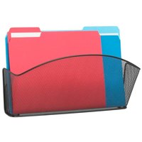 Safco 5653BL Onyx Steel 1 Pocket Wall File