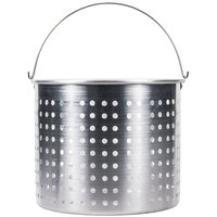 80 Qt. Aluminum Stock Pot Steamer Basket