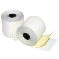 Quality Park 15625 2 1/4 inch x 70' Two-Ply Credit / Debit Verification Rolls - 50/Case