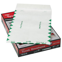 Survivor R1670 Tyvek® #98 10 inch x 15 inch White U.S. Postal Service First Class Mailer File Envelope with Self Adhesive Seal - 100/Box