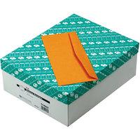Quality Park 11462 #12 4 3/4 inch x 11 inch Brown Kraft Gummed Seal Business Envelope - 500/Box