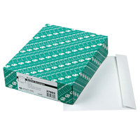 Quality Park 37693 #90 9 inch x 12 inch White Gummed Seal Open Side File Envelope - 100/Box