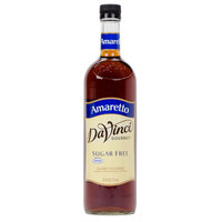 DaVinci Gourmet 750 mL Amaretto Sugar Free Coffee Flavoring Syrup
