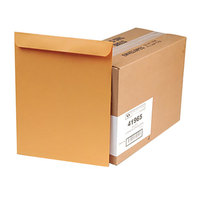 Quality Park 41965 #110 12 inch x 15 1/2 inch Brown Kraft Gummed Seal File Envelope - 250/Box