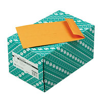 Quality Park 43362 #63 6 1/2 inch x 9 1/2 inch Brown Kraft File Envelope with Redi-Seal Adhesive - 250/Box