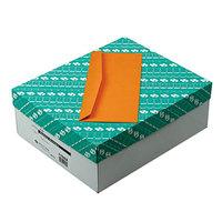 Quality Park 11562 #14 5 inch x 11 1/2 inch Brown Kraft Gummed Seal Business Envelope - 500/Box