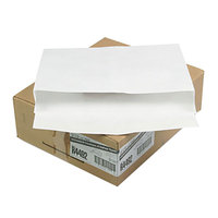 Survivor R4492 Tyvek® #110 12 inch x 16 inch x 2 inch White Expansion Mailer with Flap-Stick Self Adhesive Seal - 100/Case
