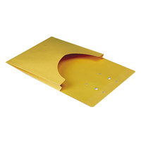 Quality Park E9400 Letter or Legal Size Classification Pocket - 1 inch Expansion, Kraft - 100/Box