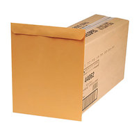 Quality Park 44062 #110 12 inch x 15 1/2 inch Brown Kraft File Envelope with Redi-Seal   - 250/Box
