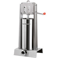 Manual 30 lb. All Stainless Steel Vertical Sausage Stuffer