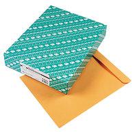 Quality Park 41967 #110 12 inch x 15 1/2 inch Brown Kraft Gummed Seal File Envelope - 100/Box