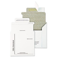 Quality Park E7266 5 inch x 5 inch White Foam Lined Multimedia Mailer - 25/Box