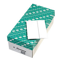 Quality Park 36426 #6 4 3/4 inch x 6 1/2 inch White Gummed Seal Greeting Card / Invitation Envelope with Redi-Strip Seal - 500/Box
