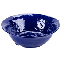 GET ML-133-CB New Yorker 4.25 qt. Cobalt Blue Round Catering Bowl - 14 inch