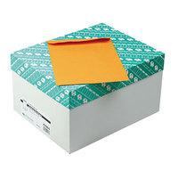Quality Park 41065 #75 7 1/2 inch x 10 1/2 inch Brown Kraft Gummed Seal File Envelope - 500/Box