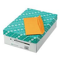 Quality Park 11162 #10 4 1/8 inch x 9 1/2 inch Brown Kraft Gummed Seal Business Envelope - 500/Box