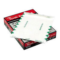 Survivor R1590 Tyvek® #97 10 inch x 13 inch White U.S. Postal Service First Class Mailer File Envelope with Self Adhesive Seal - 100/Box