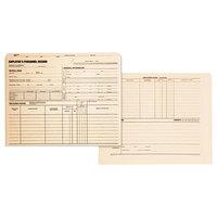 Quality Park 69999 Letter Size Employee Record Folder, Manila - 100/Box
