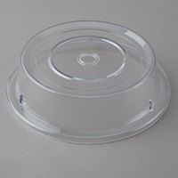 Cambro 1000CW152 Camwear 10 3/16 inch Clear Camcover Plate Cover - 12/Case