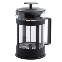 Choice 27 oz. Glass / Black French Coffee Press