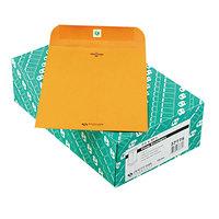 Quality Park 37775 #75 7 1/2 inch x 10 1/2 inch Brown Kraft Clasp / Gummed Seal File Envelope - 100/Box