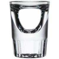 Libbey 5135 1.25 oz. Fluted Whiskey / Shot Glass - 12/Pack