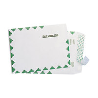 Survivor R1330 Tyvek® #55 6 inch x 9 inch White U.S. Postal Service First Class Mailer with Self Adhesive Seal - 100/Box