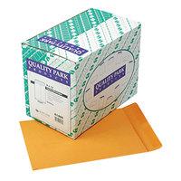 Quality Park 41460 #90 9 inch x 12 inch Brown Kraft Gummed Seal File Envelope - 250/Box
