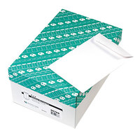 Quality Park 40788 #55 6 inch x 9 inch White Gummed Seal File Envelope - 500/Box