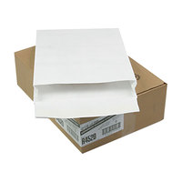 Survivor R4520 Tyvek® #110 12 inch x 16 inch x 2 inch White Expansion Mailer with Flap-Stick Self-Adhesive Seal   - 100/Case