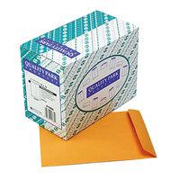 Quality Park 41665 #97 10 inch x 13 inch Brown Kraft Gummed Seal File Envelope - 250/Box