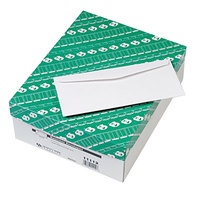 Quality Park 11112 #10 4 1/8 inch x 9 1/2 inch White Gummed Seal Business Envelope - 500/Box