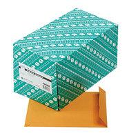 Quality Park 43462 #75 7 1/2 inch x 10 1/2 inch Brown Kraft File Envelope with Redi-Strip Seal - 250/Box