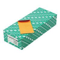 Quality Park 50562 #5 1/2 3 1/8 inch x 5 1/2 inch Brown Kraft Gummed Seal Coin Envelope - 500/Box