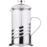 Core 20 oz. Glass / Silver French Coffee Press