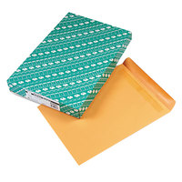 Quality Park 44067 Redi Seal #110 12 inch x 15 1/2 inch Brown Kraft File Envelope with Redi-Seal Adhesive - 100/Box