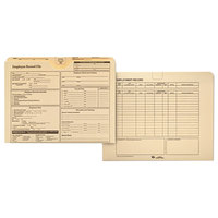 Quality Park 69998 Letter Size Employee Record Folder, Manila - 20/Pack