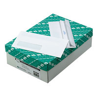 Quality Park 21318 #10 4 1/8 inch x 9 1/2 inch White Business Envelope with Window and Redi-Seal   - 500/Box
