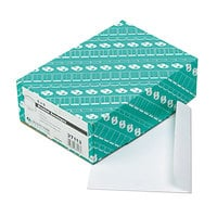 Quality Park 37113 #55 6 inch x 9 inch White Gummed Seal File Envelope - 100/Box