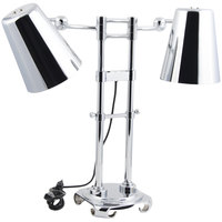 Bon Chef 9684 Adjustable Height Dual Bulb Freestanding Heat Lamp