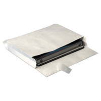 Survivor R4611 Tyvek® #97 10 inch x 13 inch x 2 inch White Expansion Mailer with Flap-Stick Self-Adhesive Seal   - 25/Pack
