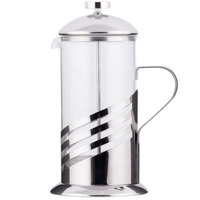 Core 33 oz. Glass / Silver French Coffee Press