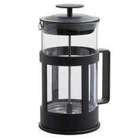 Choice 33 oz. Glass / Black French Coffee Press