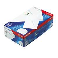 Columbian CO105 #6 3/4 3 5/8 inch x 6 1/2 inch White Gummed Seal Business Envelope - 500/Box