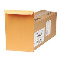 Quality Park 43862 Redi Seal #98 10 inch x 15 inch Brown Kraft File Envelope with Redi-Seal Adhesive - 250/Box