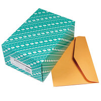 Quality Park 54301 #98 10 inch x 15 inch Brown Kraft Gummed Seal Open Side File Envelope - 100/Box