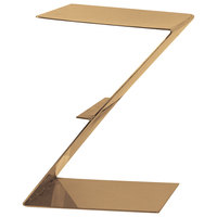 Eastern Tabletop 1203RZ 12 inch Bronze Coated Stainless Steel Z-Shaped Riser