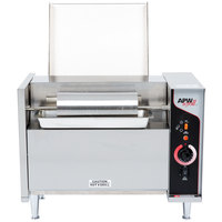 APW Wyott M-95-3 Vertical Conveyor Bun Grill Toaster with 3 inch Opening - 208V