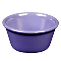 Thunder Group ML536BU1 Purple 2.5 oz. Smooth Melamine Ramekin - 12/Case
