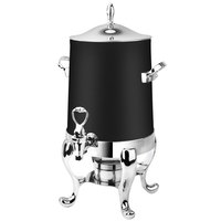 Eastern Tabletop 3113MB Park Avenue 3 Gallon Black Coated Stainless Steel Coffee Urn with Fuel Holder
